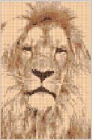 Cover for 'Lion 2 Cross Stitch Pattern'