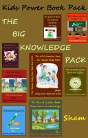 Cover for 'Kids Power Book Pack : The Big Knowledge Pack'