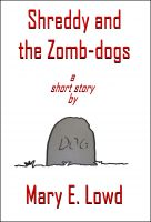 Cover for 'Shreddy and the Zomb-dogs'