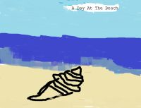 Cover for 'At the Beach'