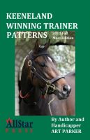 Cover for 'Keeneland Winning Trainer Patterns - 2011 Edition'