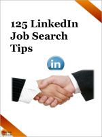 Cover for '125 LinkedIn Job Search Tips'