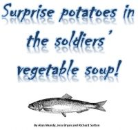 Surprise potatoes in the soldiers' vegetable soup! cover