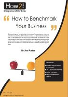 Cover for 'How to Benchmark Your Business'