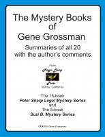 Cover for 'The Mystery Books of Gene Grossman: Summaries with the Author's Comments'