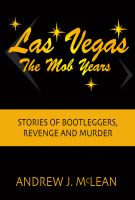 Cover for 'Las Vegas The Mob Years'