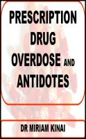 Cover for 'Prescription Drug Overdose and Antidotes'