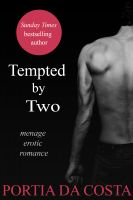 Cover for 'Tempted by Two - a menage erotic romance'