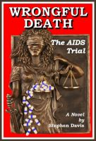 Cover for 'Wrongful Death: The AIDS Trial'