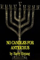 Cover for 'No Candles for Antiochus'