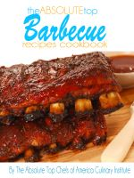 Cover for 'The Absolute Top Barbecue Recipes Cookbook'