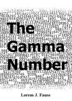 Cover for 'The Gamma Number'