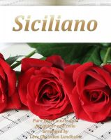 Cover for 'Siciliano Pure sheet music duet for guitar and cello arranged by Lars Christian Lundholm'