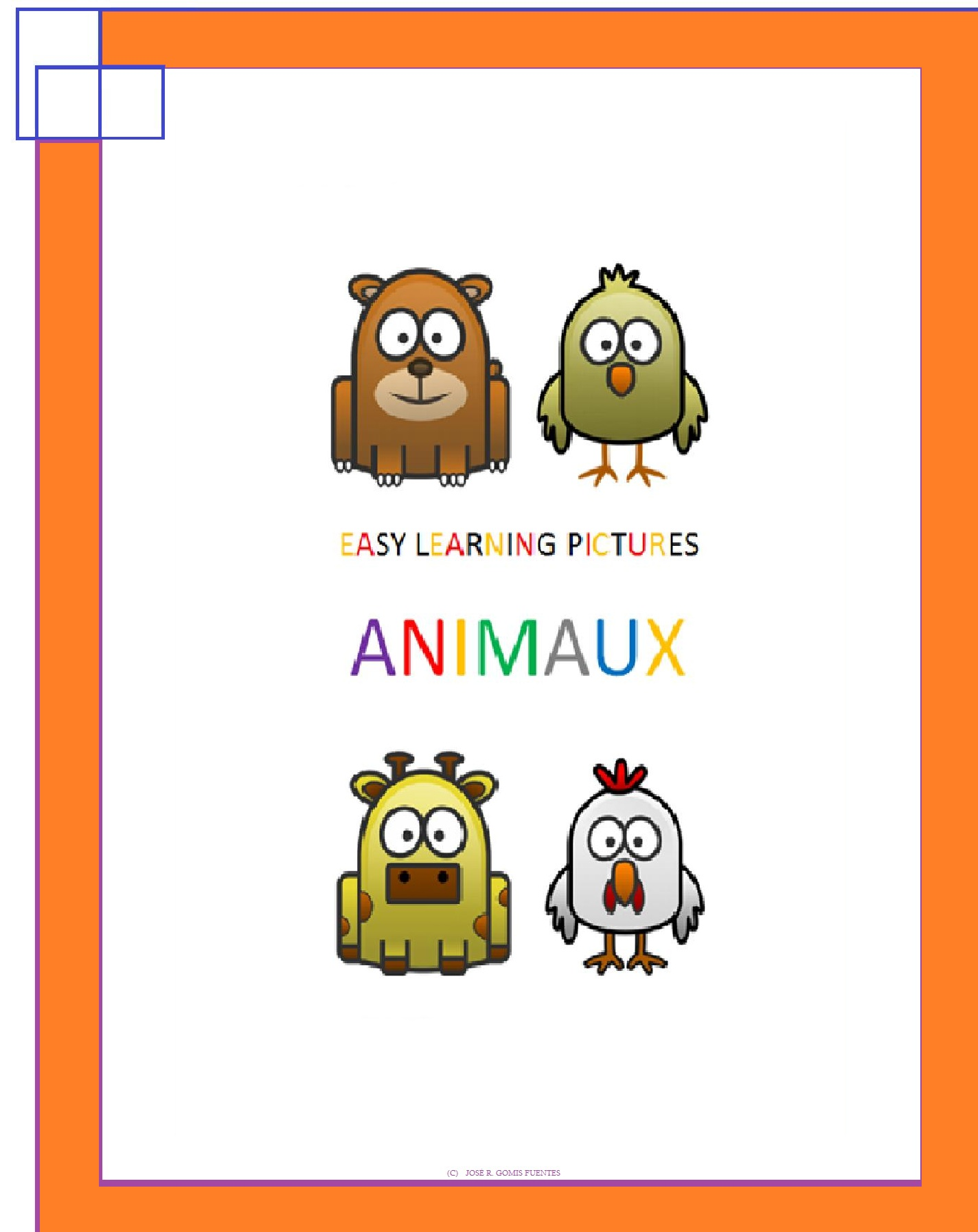 Jose Remigio Gomis Fuentes - Easy Learning Pictures. Animaux