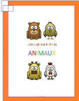 Cover for 'Easy Learning Pictures. Animaux'