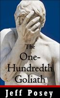 Cover for 'One-Hundredth Goliath: a short story'