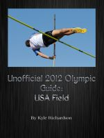 Cover for 'Unofficial 2012 Olympic Guides: USA Field'