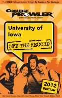 Cover for 'University of Iowa 2012'