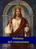 Cover for 'Defensa del cristianismo'