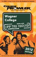 Cover for 'Wagner College 2012'
