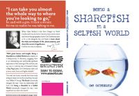 Cover for 'Being a Sharefish in a Selfish World'