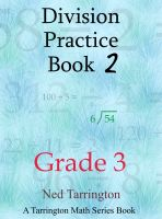 Cover for 'Division Practice Book 2, Grade 3'