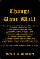 Cover for 'Change Done Well'