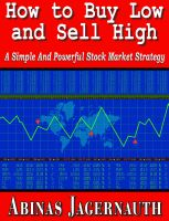Cover for 'How To Buy Low And Sell High'