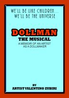 Cover for 'Dollman The Musical - A Memoir of an Artist as a Dollmaker'