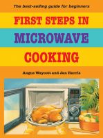 Cover for 'First Steps In Microwave Cooking'