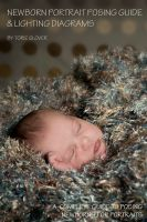 Cover for 'Newborn Portrait Posing Guide & Lighting Diagram'