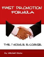Cover for 'Fast Promotion Formula'