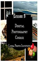 Cover for 'Lesson 9 Digital Photography Course'