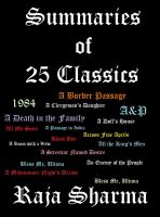 Cover for 'Summaries of 25 Classics: An Anthology'