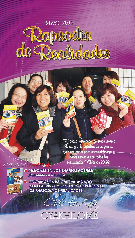 Pastor Chris and Anita Oyakhilome - Rhapsody of Realities May 2012 Spanish Edition