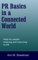 Cover for 'PR Basics in a Connected World'