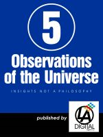 Cover for '5 Observations of the Universe'