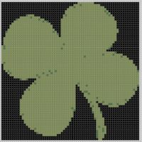Cover for 'Four Leaf Clover 2 Cross Stitch Pattern'