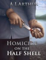 Cover for 'Homicide on the Half Shell'
