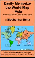 Cover for 'Easily Memorize the World Map - Asia'