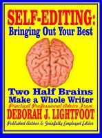 Cover for 'Self-Editing: Two Half Brains Make a Whole Writer'
