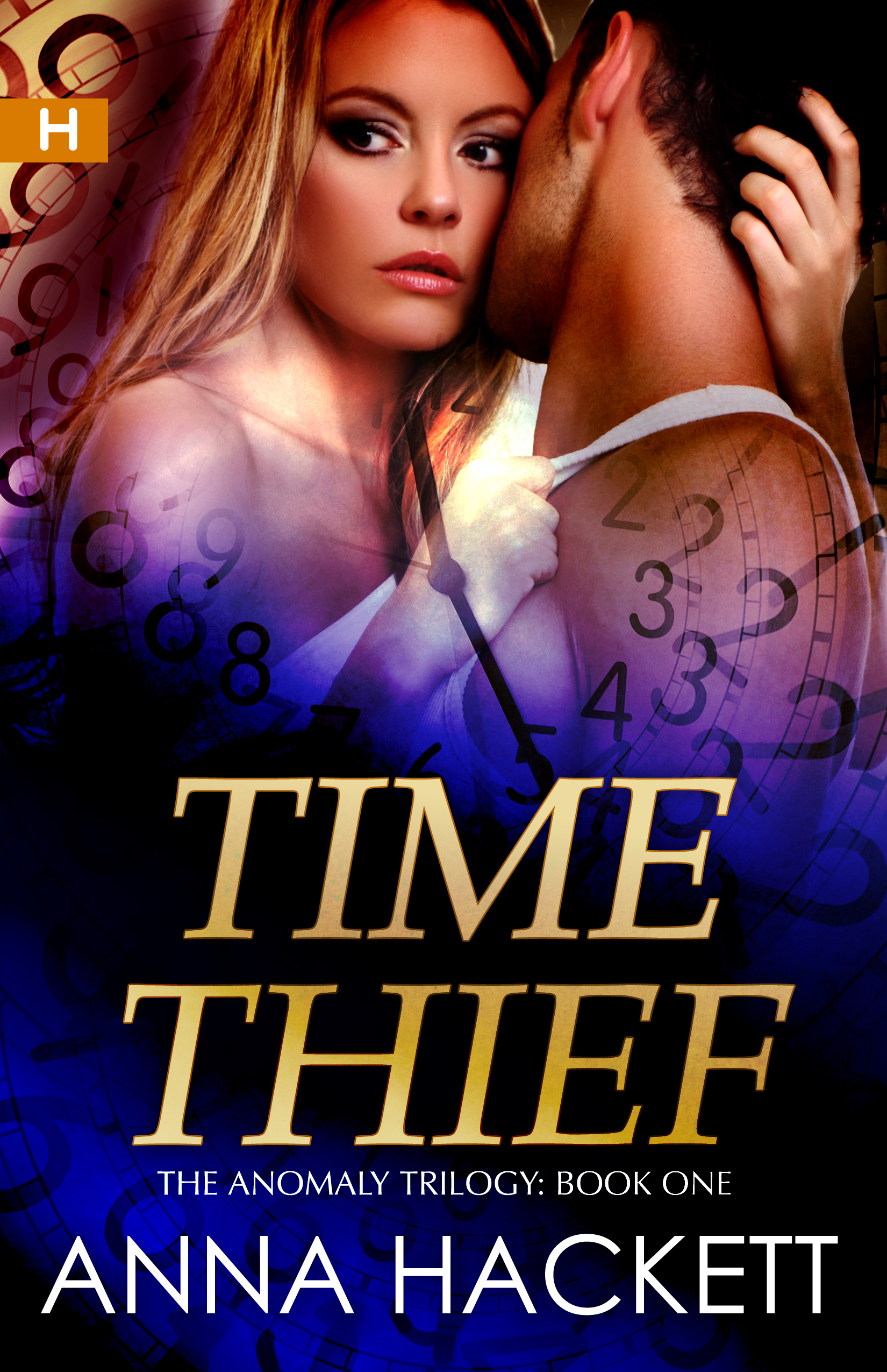 Anna Hackett - Time Thief (Anomaly Trilogy #1)