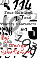 Cover for 'Four-Hundred and Twenty Characters'