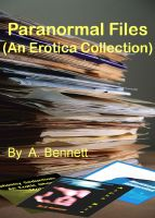 Cover for 'Paranormal Files:  An Erotica Collection'