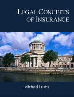 Cover for 'Legal Concepts of Insurance'