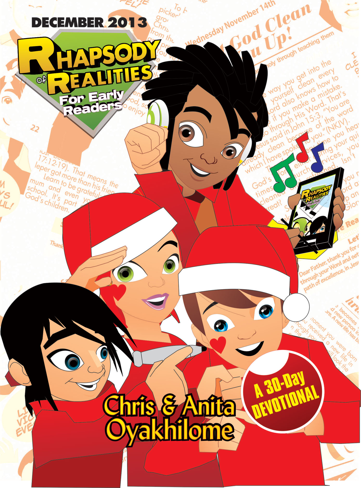 Pastor Chris and Anita Oyakhilome - Rhapsody of Realities for Early Readers – December Edition
