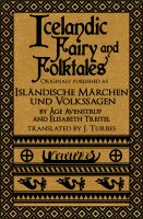 Cover for 'Icelandic Fairy and Folktales'