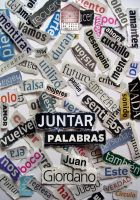 Cover for 'Juntar Palabras'
