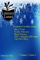 Cover for 'Literary Lunes Magazine, January 2012 Issue'