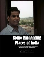 Cover for 'Some Enchanting Places of India'